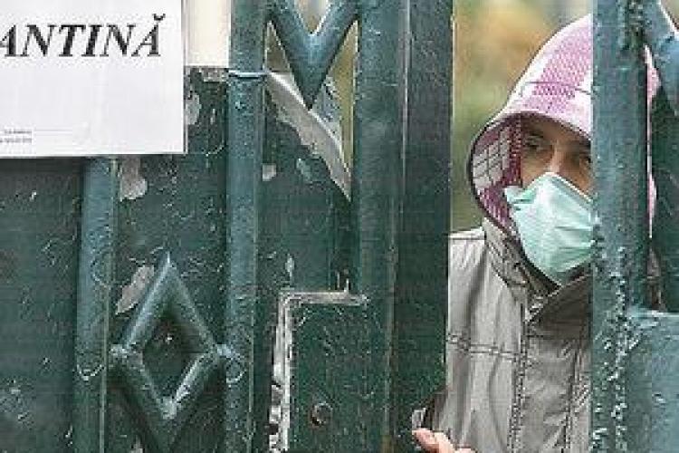 Un barbat din judetul Salaj a murit la Cluj de gripa porcina