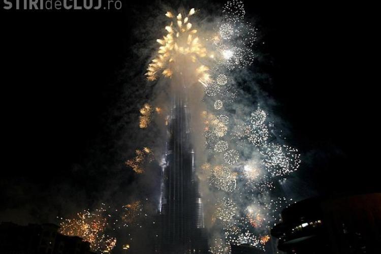 Cea mai inalta cladire din lume, Burj Dubai,  a fost inaugurata cu un spectaculos foc de artificii- VEZI VIDEO si FOTO