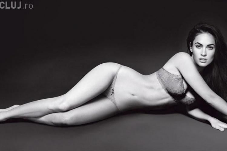 Megan Fox se dezbraca pentru Armani - VEZI FOTO