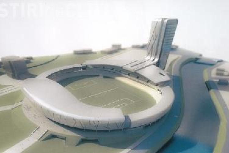 "Pe noul stadion ""Ion Moina"" s-ar putea juca vara viitoare"