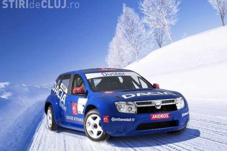 Lui Alain Prost ii place sa conduca  Dacia Duster