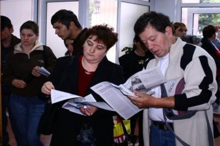 """La Cluj, cei 11.500 de someri se """"bat"""" pe 239 de locuri de munca disponibile"""