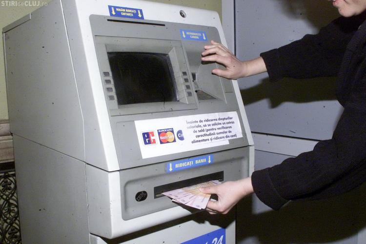 Atentie la bancomate! Se fura!-VIDEO