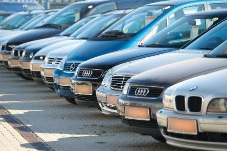 Clujenii se inghesuie sa cumpere de sarbatori masini din Occident