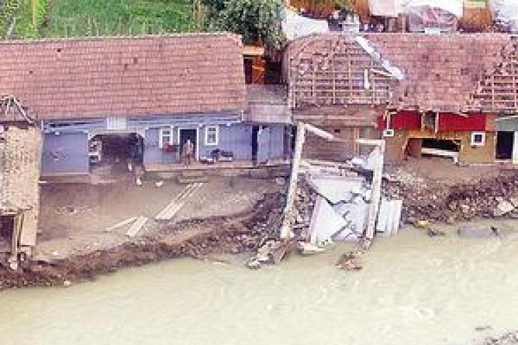 Avertizare: cod galben de inundatii la Cluj de Revelion