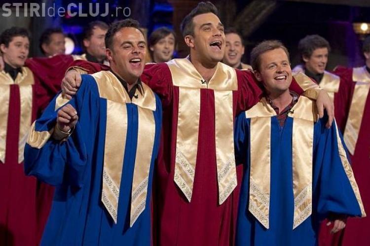 Robbie Williams - baiat in corul de Craciun