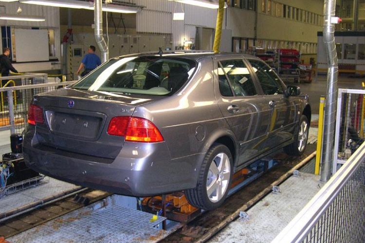 General Motors inchide uzinele Saab
