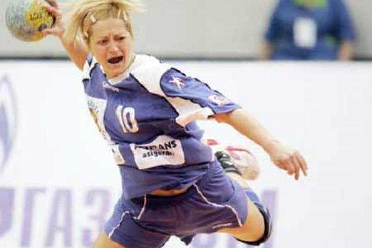 O handbalista de la U Jolidon Cluj a fost depistata in 2008 cu sibutramina si a scapat nesuspendata