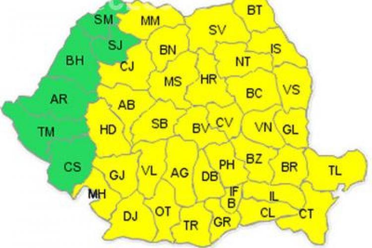 Frig de crapa pietrele- cod galben de ger la Cluj