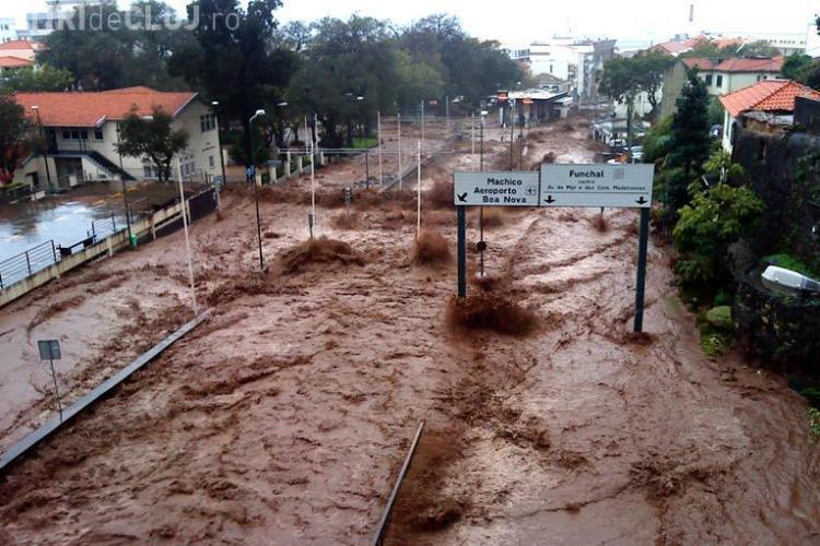 Un suvoi de noroi a inundat orasul Madeira ucigand peste 30 de oameni - VIDEO