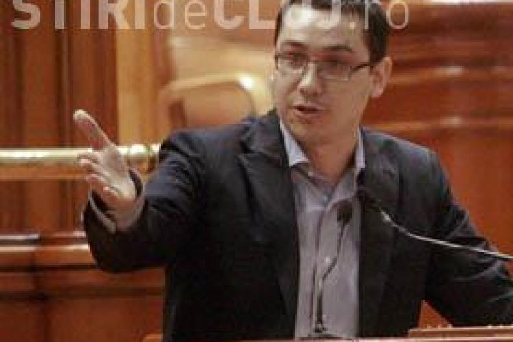 Victor Ponta candideaza la functia de presedinte al PSD, in locul lui Adrian Nastase - VIDEO