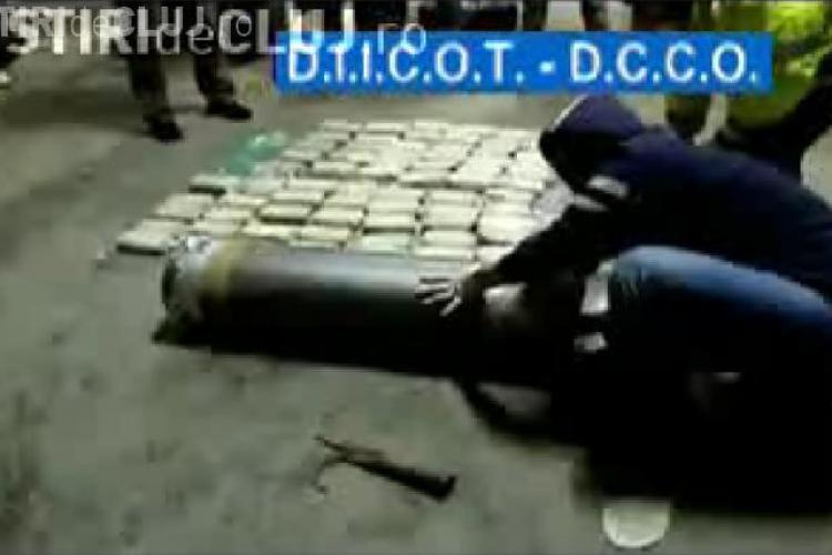 100 de kg de heroina capturata in vama Varsand, judetul Arad, intr-un TIR cu ajutoare pentru Haiti - VIDEO si FOTO