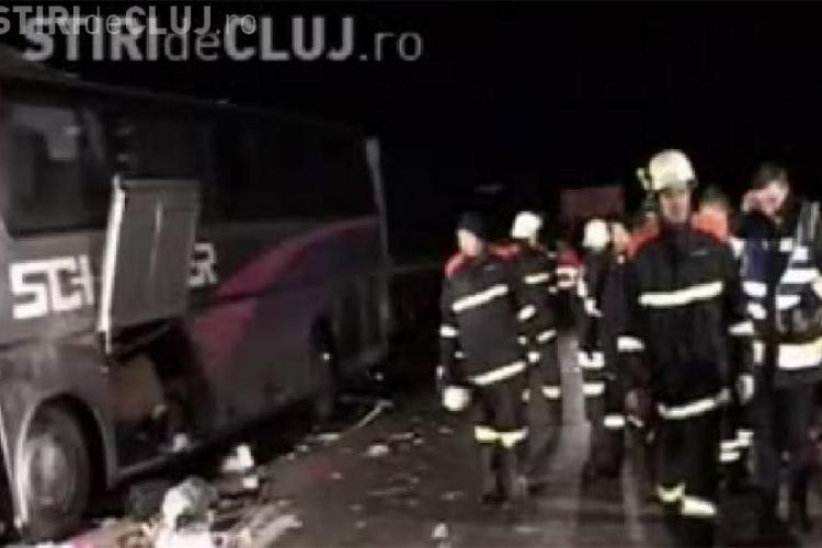 Sase morti si 27 de raniti intr-un accident rutier grav langa Viena. Sofer roman implicat - VIDEO si FOTo