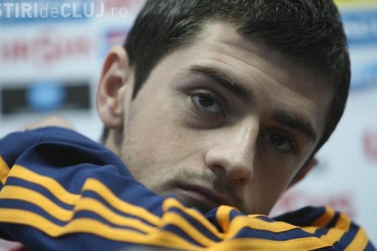 Razvan Cocis se antreneaza cu Universitatea Cluj