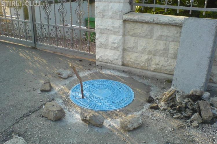 In Romania se fura orice! Cel putin 9 capace de canal au fost furate azi-noapte in Cluj!