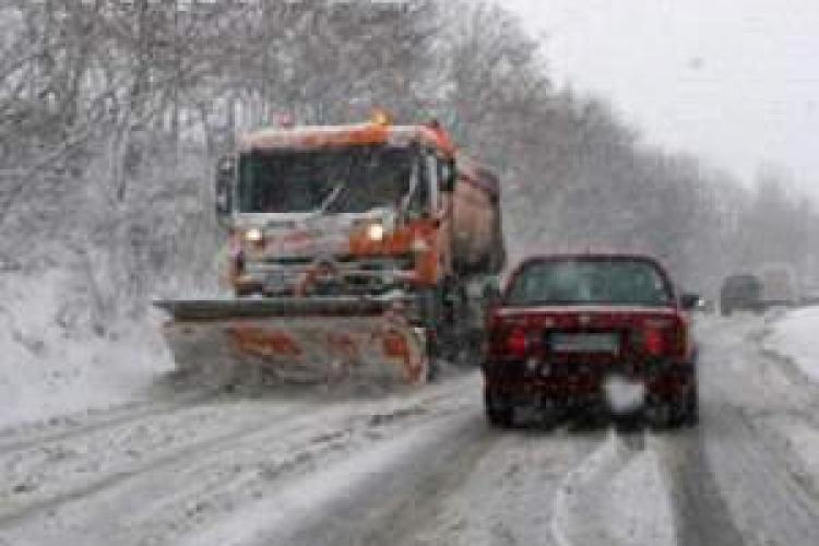 Drumurile judetene si nationale nu sunt blocate