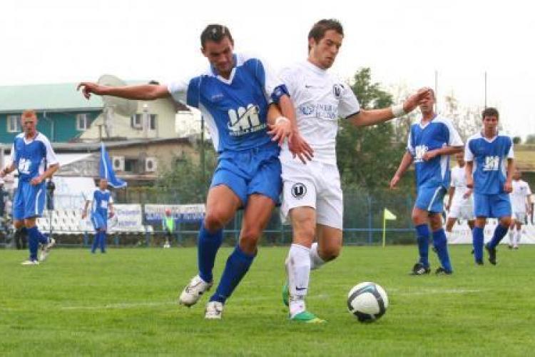"""U"" Cluj - Admira Trenkwalder 1-1, FINAL"