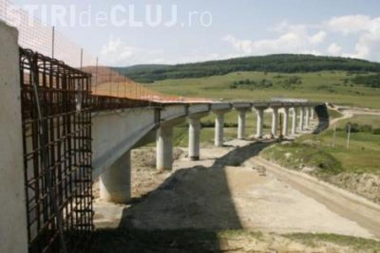 Guvernul a alocat 790 de milioane de lei pentru autostrada Transilvania si Centura de Est a Clujului