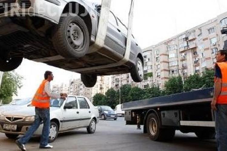 Primaria Cluj ii vaneaza pe soferii care parcheaza neregulamentar