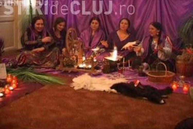 Vrajitoarele, care au luptat la Cluj cu flacara violet, vor merge duminica sa descante la Parlament