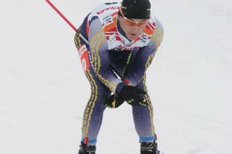 Un roman, campion mondial la  schi fond