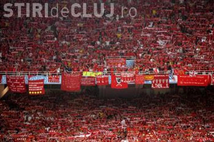 Unirea Urziceni a pierdut la Liverpool, in fata celei mai impresionante galerii din fotbalul mondial - VIDEO SUPORTERI