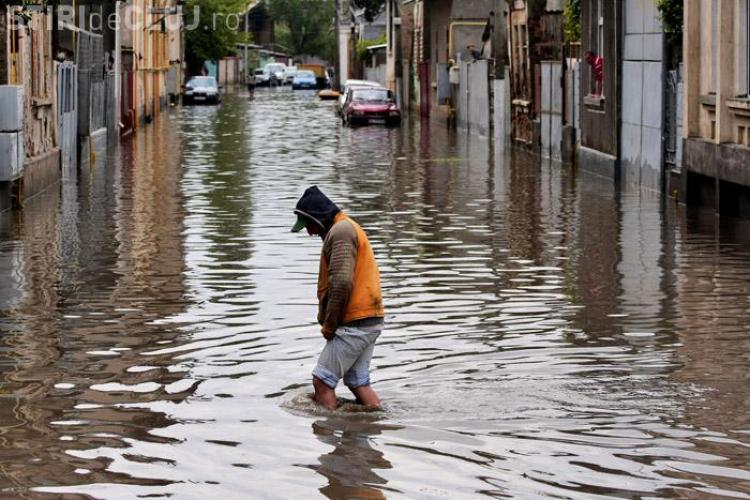 11 judete sub ape si 40 de localitati inundate
