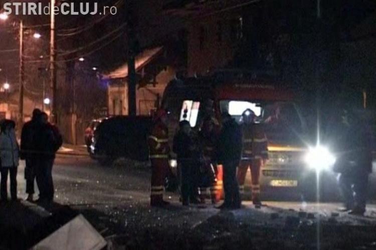 Cititorii www.stiridecluj.ro au filmat si ei explozia de azi noapte, de pe strada Paris, din Cluj - Napoca - VIDEO