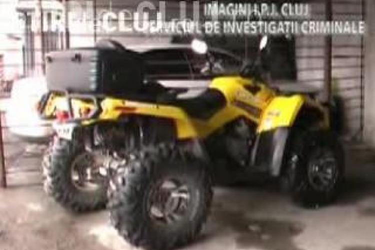 Hotii de ATV-uri, prinsi la Cluj cu ajutorul camerelor video montate de primarie