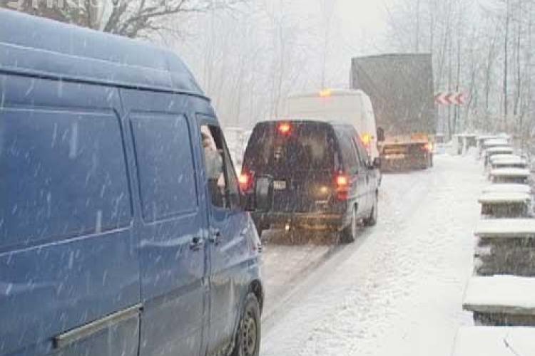 Accident cu 20 de masini pe autostrada A1. Sapte persoane ranite