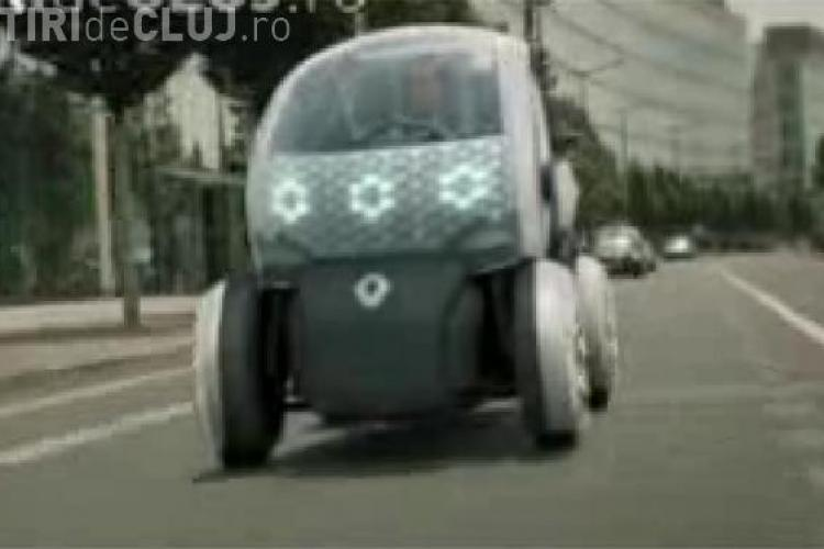 Renault va lansa masina electrica de 5000 euro cu incarcare la priza - VIDEO