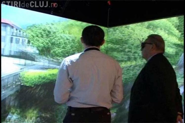 Bun venit in realitatea virtuala! La Cluj-Napoca a fost inaugurat azi primul cub virtual din Romania -  VIDEO si FOTO