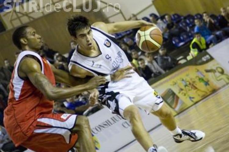 U Mobitelco Cluj a trecut la pas de BC Miercurea Ciuc, scor 83-54 (39-20)