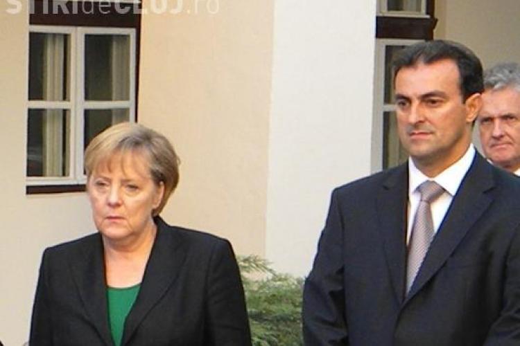 Sorin Apostu s-a laudat cancelarului german cu proiectul de Capitala Culturala Europeana in 2020! Angela Merkel a strambat din nas