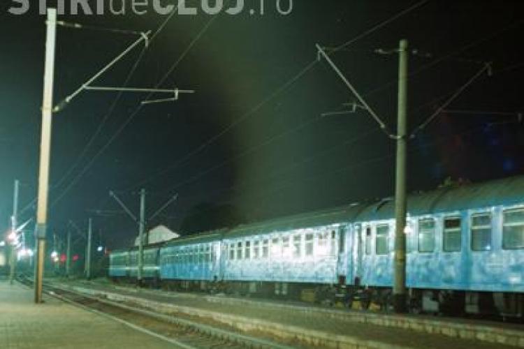 Un student din Cluj s-a aruncat la Alba in fata trenului! Tanarul a murit pe loc