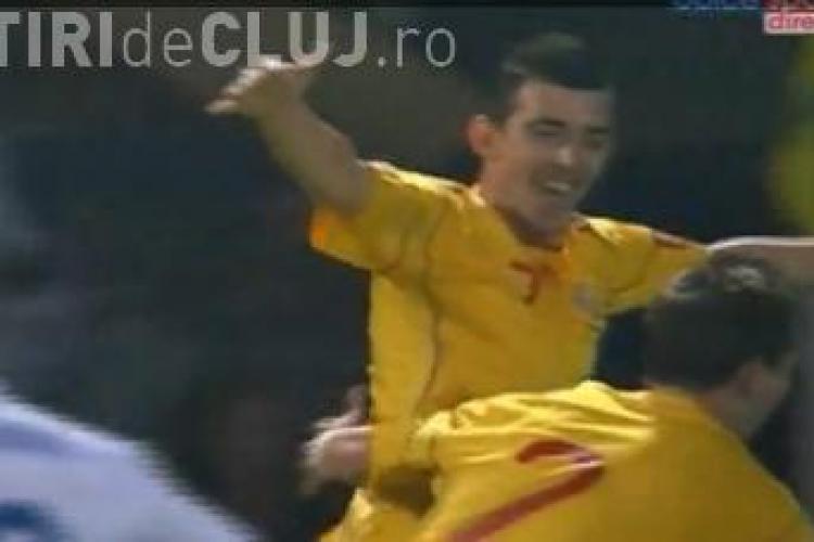 Hora a inscris pentru nationala de tineret! Anglia - Romania 2-1 / REZUMAT VIDEO