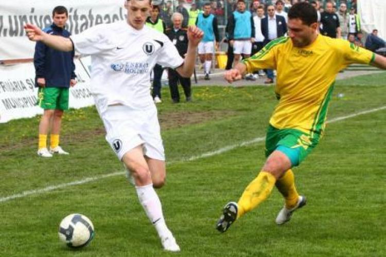 Suporterii au intrare gratuita la meciul U Cluj- Victoria Branesti