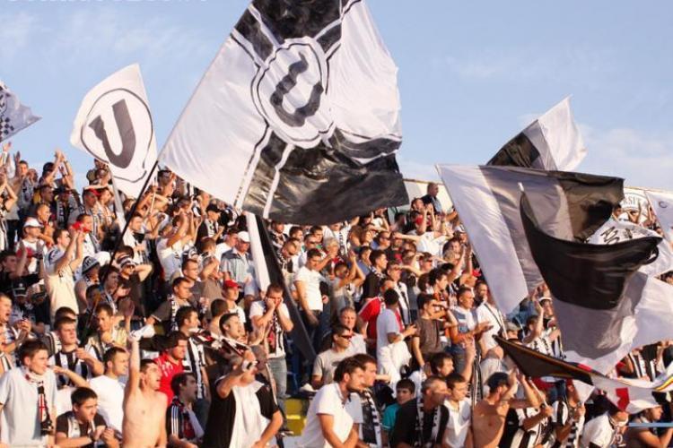Acces gratuit la meciul U Cluj - Victoria Branesti