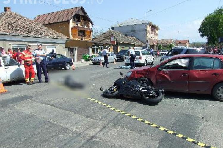 Un motociclist maghiar a murit in comuna Poieni. Accidentul a fost deosebit de violent!