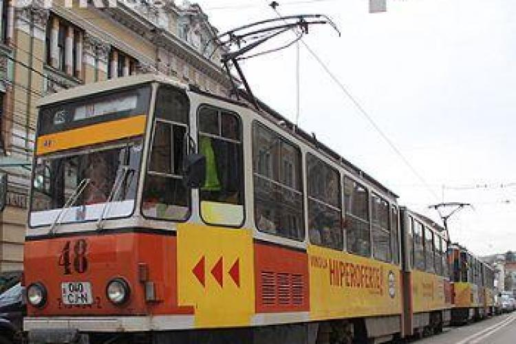 Prin contractul de modernizare a liniei de tramvai si a parcului central din Cluj Napoca vor fi create 600 de locuri de munca