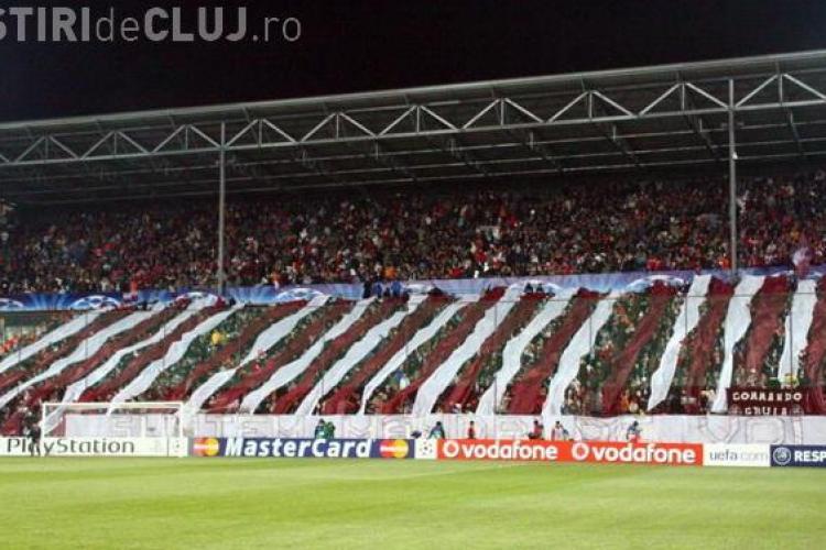 Galeria CFR Cluj pregateste o coregrafie speciala pentru meciul din Cupa Campionilor cu Bayern Munchen