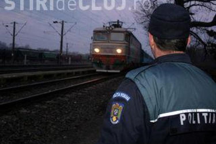 "Barbat lovit de ""trenul foamei"" in apropiere de fabrica Sanex, din Cluj Napoca"