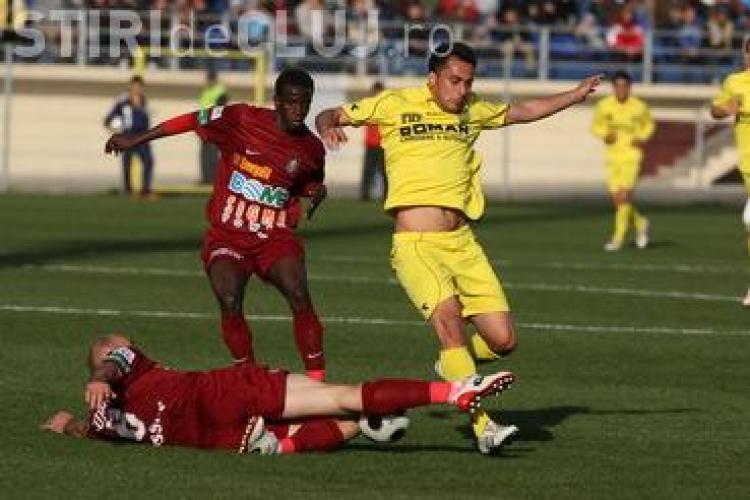 LIVE TEXT - CFR Cluj - FC Brasov 4-0 VEZI GOLURILE lui Bastos si Traore