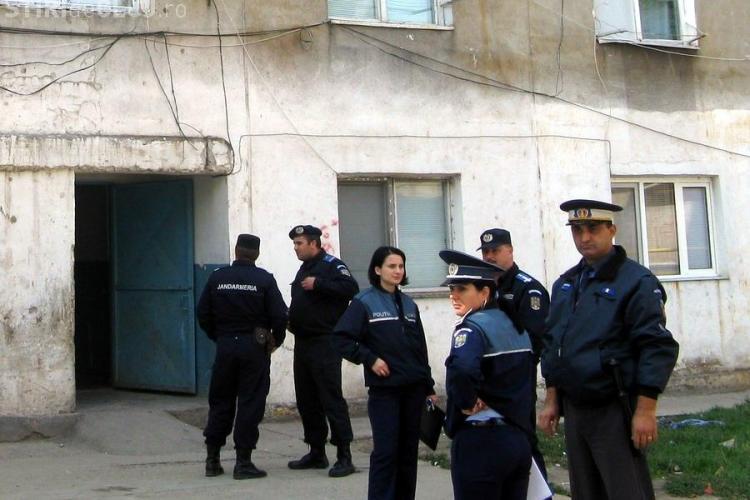 Politistii, jandarmii si angajatii SRI Cluj, lasati fara leafa de greva de la Trezorerie!