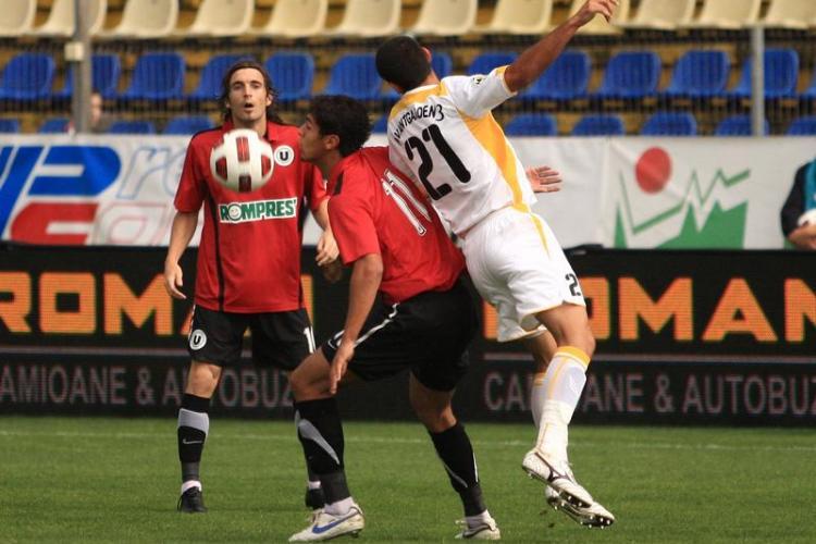 S-a schimbat modificarea! U Cluj joaca in optimile Cupei pe terenul lui FC Brasov