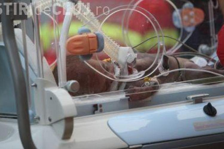 O fetita de 2 ani a cazut de la etaj, in cartierul Manastur din Cluj - Napoca - VIDEO