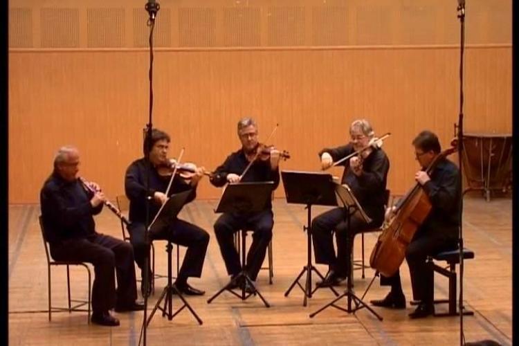 Cvartetul Transilvan si pianistul Mihai Ungureanu sustin un concert, de la ora 19.00, la Toamna Muzicala Clujeana