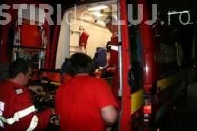 Copil de 3 ani accidentat pe strada Sesului!