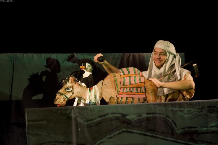 Spectacolul Cartea cu Apolodor va fi prezentat in premiera la Teatrul de Papusi Puck, dupa un turneu in Statele Unite