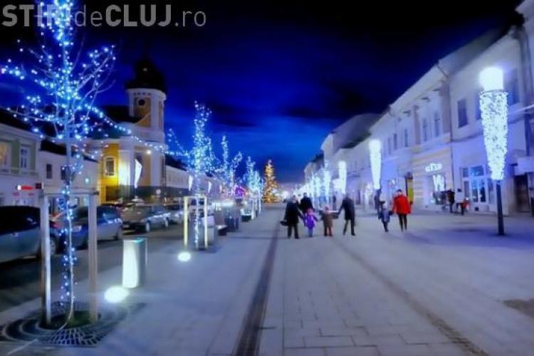 Iluminatul de sarbatori se va scumpi la Cluj Napoca! Primaria va cheltui aproape 1,3 milioane de lei